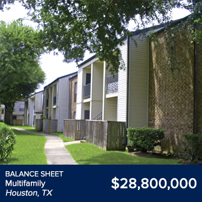 Balance Sheet Multifamily Houston, TX