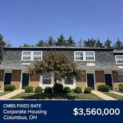 CMBS Fixed Rate Corporate Housing Columbus, OH