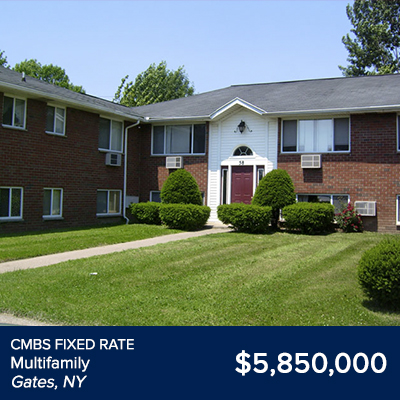 CMBS Fixed Rate Multifamily Gates, NY