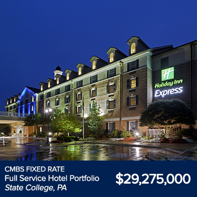 CMBS Fixed Rate Full Service Hotel State College, PA