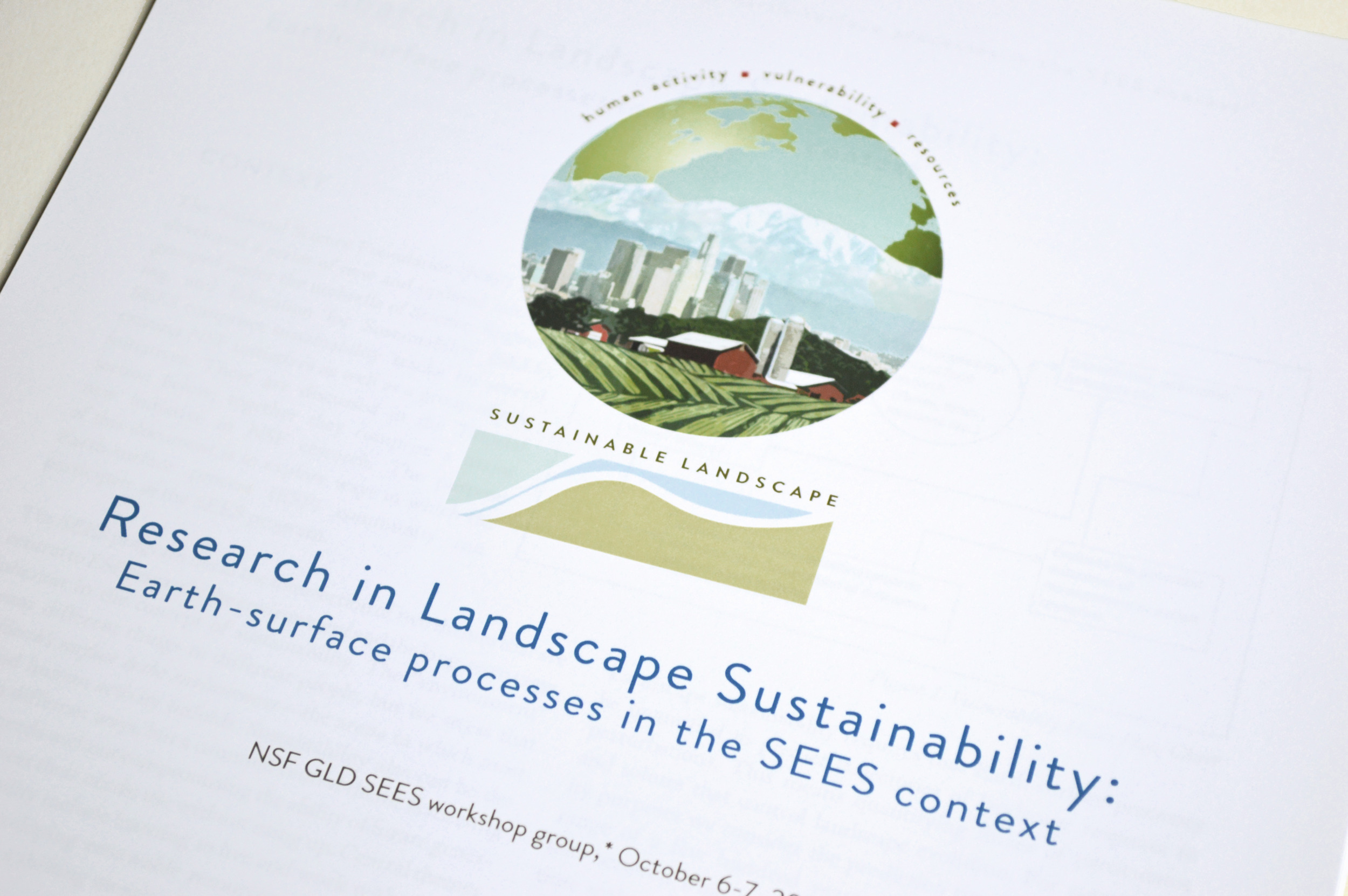 NSF Earth-surface processes report  http://www.nced.umn.edu/system/files/_SLAreportFINALupd.pdf