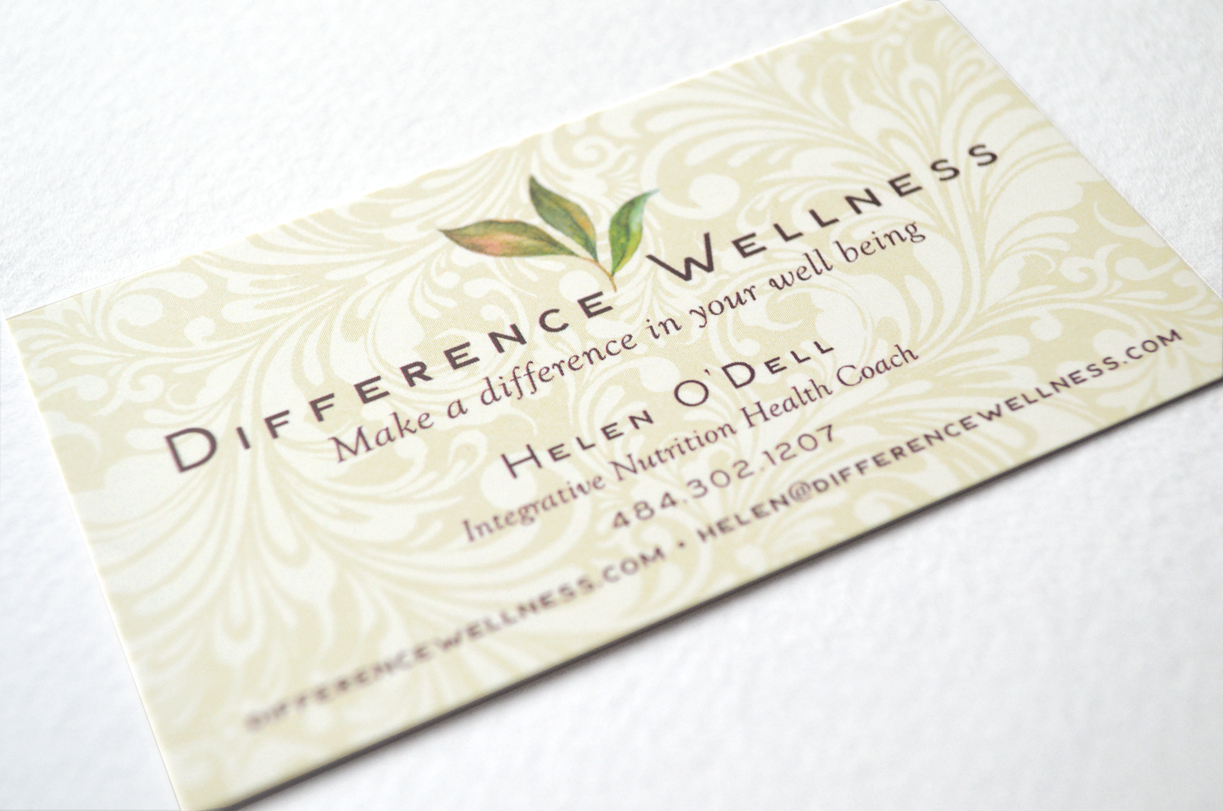 DifferenceWellness Business Card