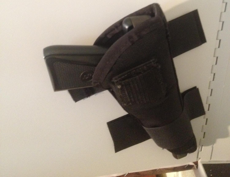 Pistol Mounting Strips