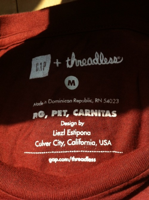 Gap + Threadless Collaboration