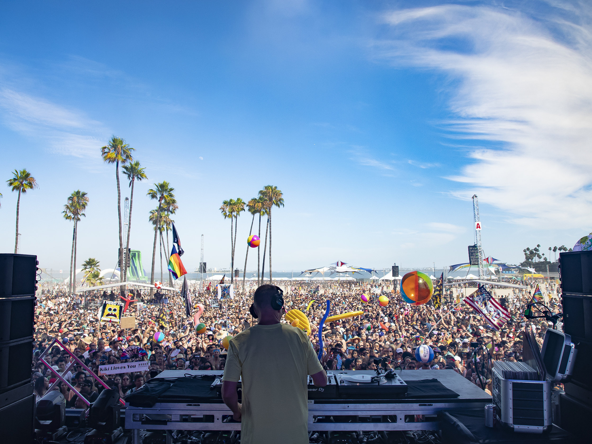 Kaskade at Alamitos Beach