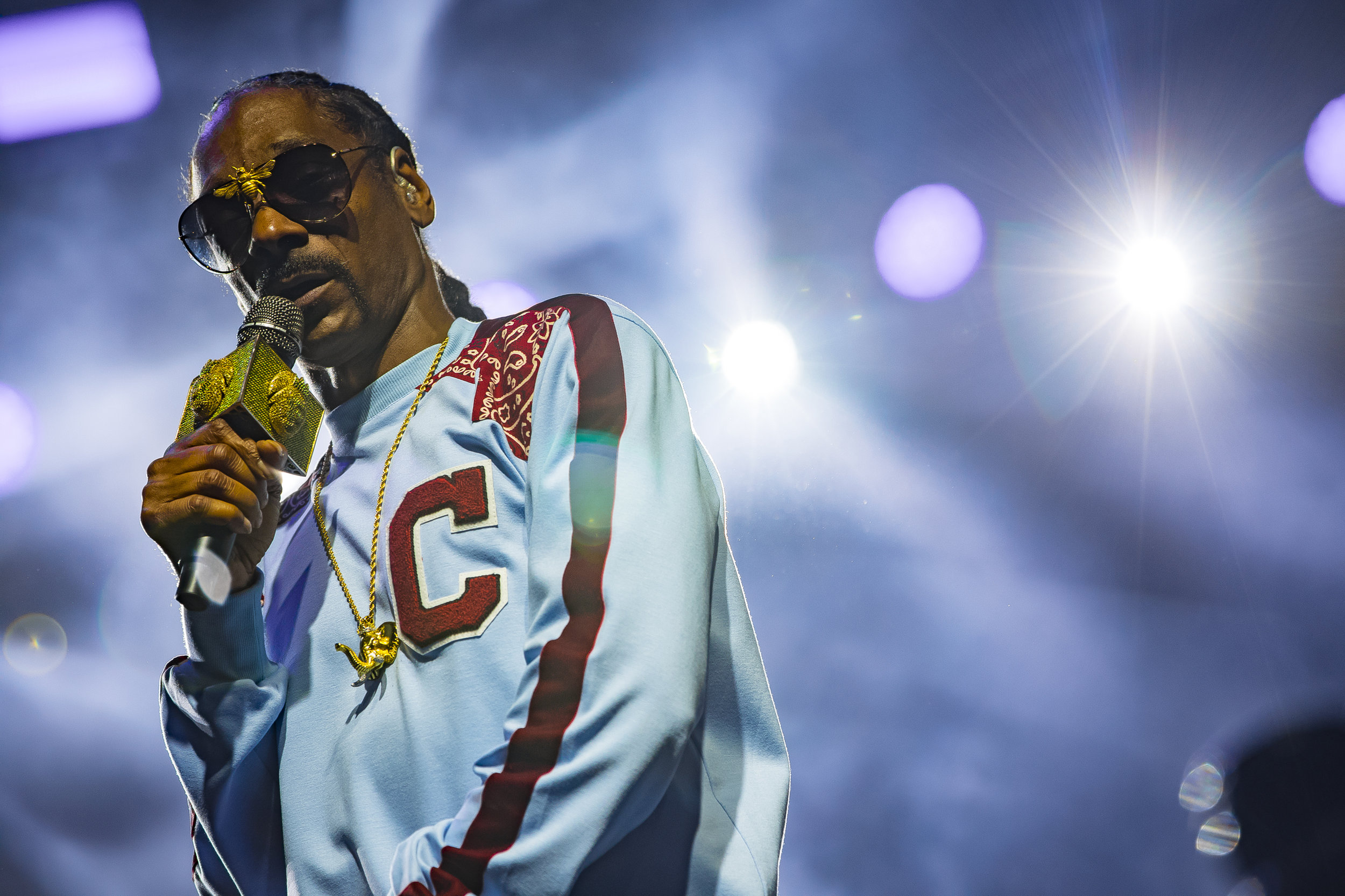 Snoop Dogg at Summertime in the LBC