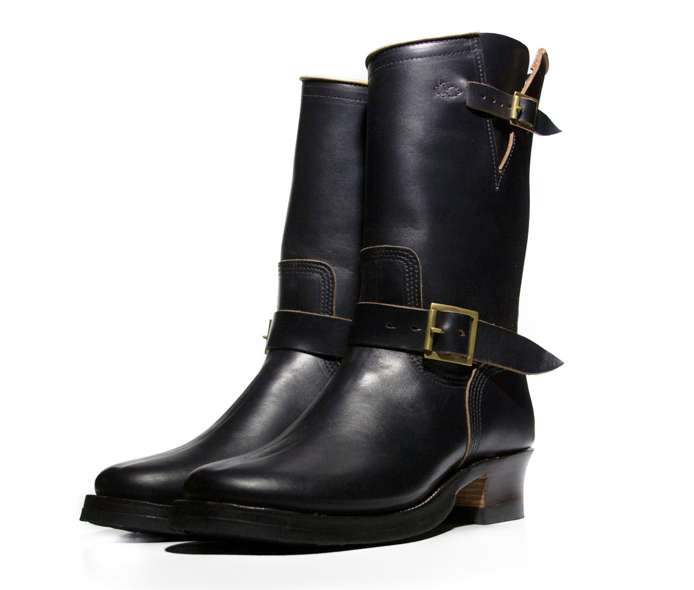 Black CXL Horsehide Engineer Boots Limited Edition  (click for more info)