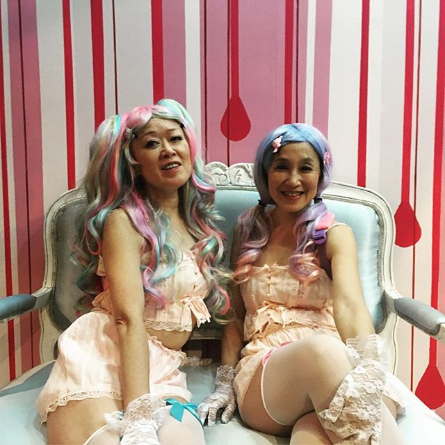 looks are deceiving! Finishing up tech for Suicide Forest @bushwickstarr  Photo by @teenyteenylee  #inviteddress #suicideforestplay #newplay #theater #nyctheatre #bushwickstarr #costumedesign #costumedesigner #himekei #pink