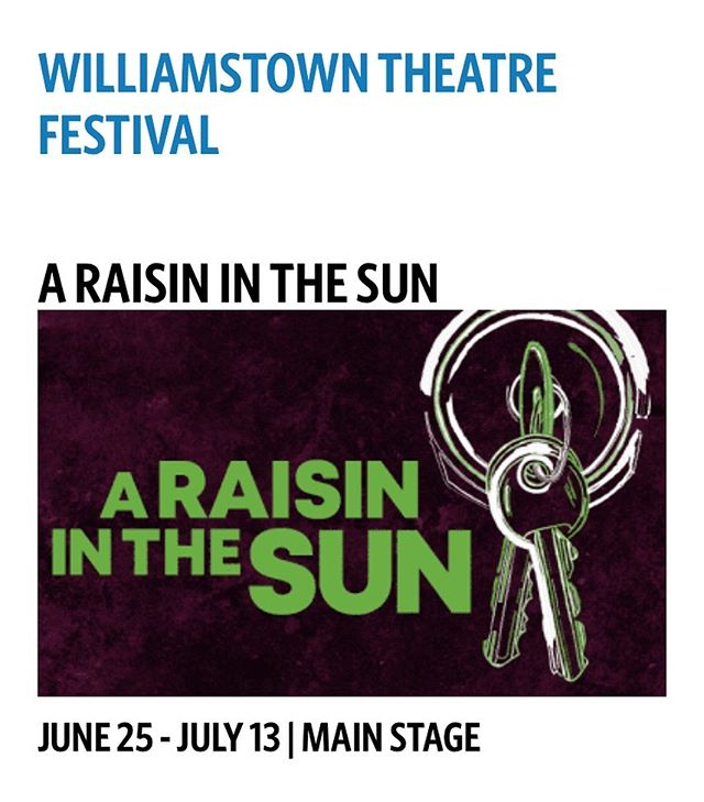 Summer design plans- can't wait!  From assistant in 2012 to designer in 2019  #costumedesigner #costumedesign #theater #summerstock #wtf #williamstowntheatrefestival #araisininthesun