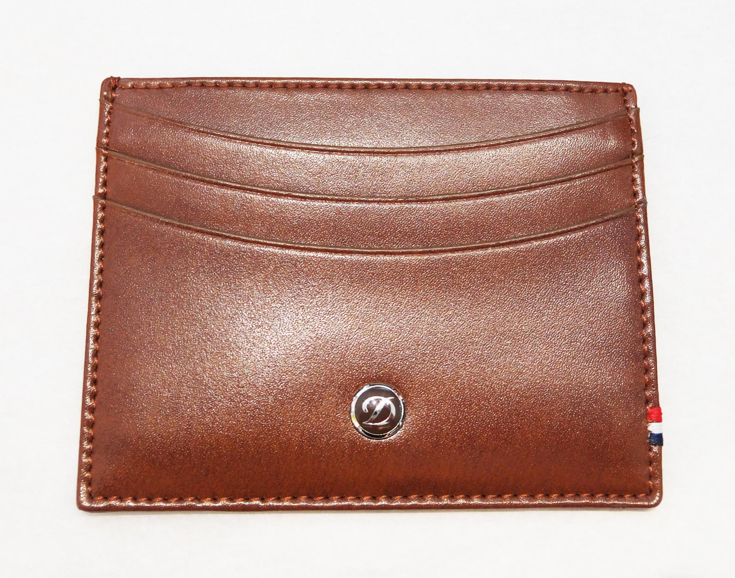 ST Dupont Line D Credit Card Holder