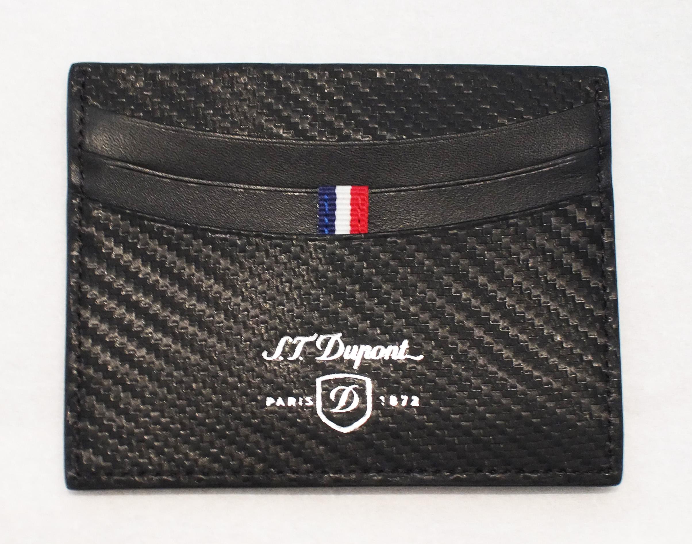 ST Dupont Defi Credit Card Holder
