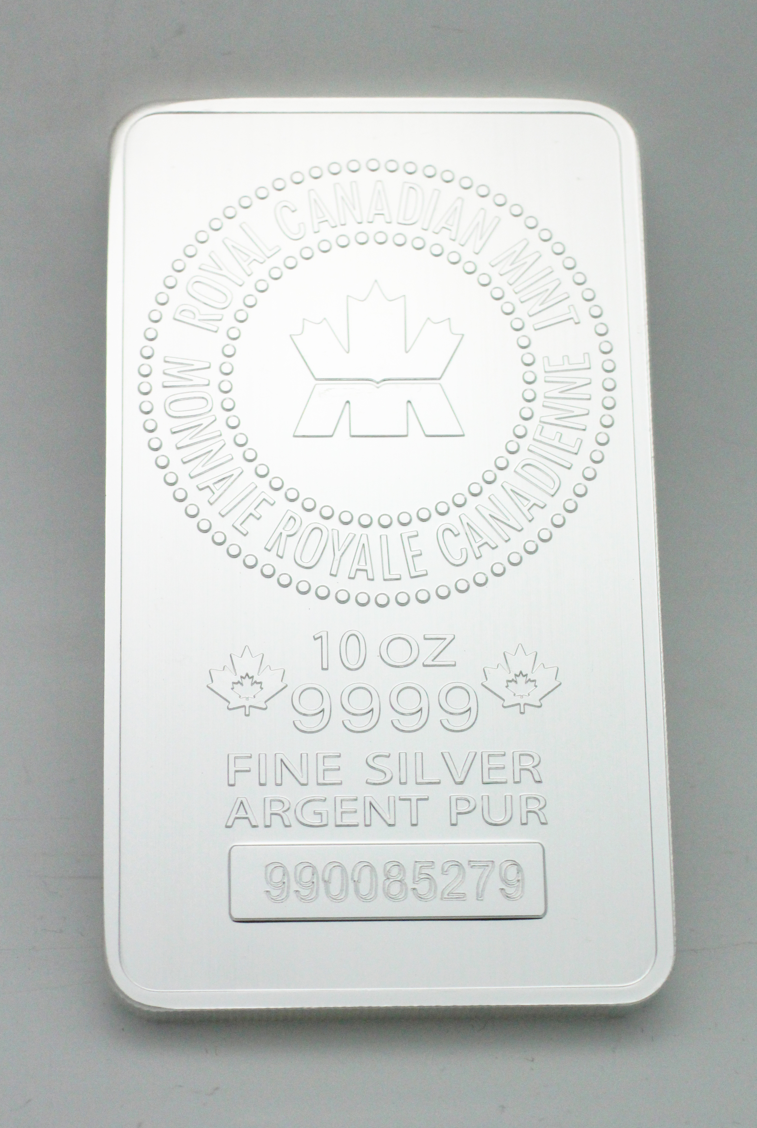 10 Oz. Silver Paper Weight