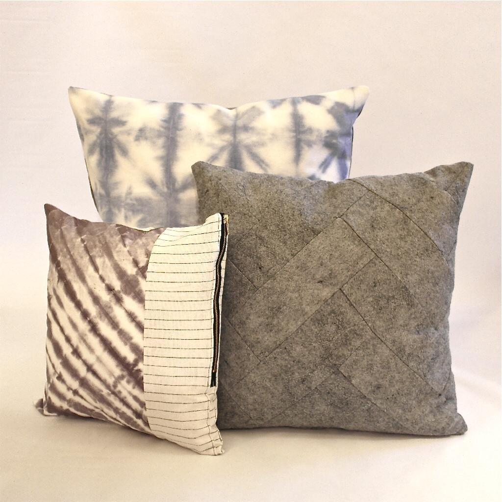 DIY pillow pile