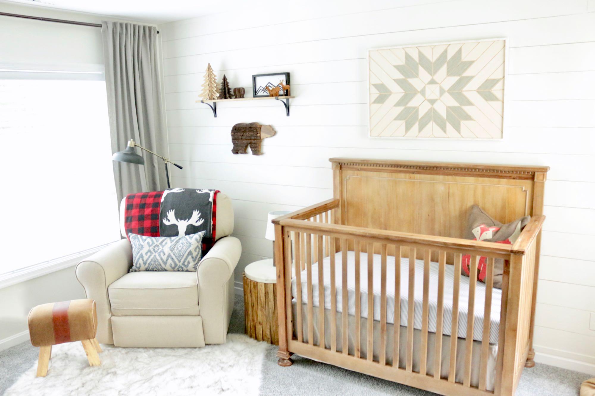 Adventure Nursery Chair & Crib