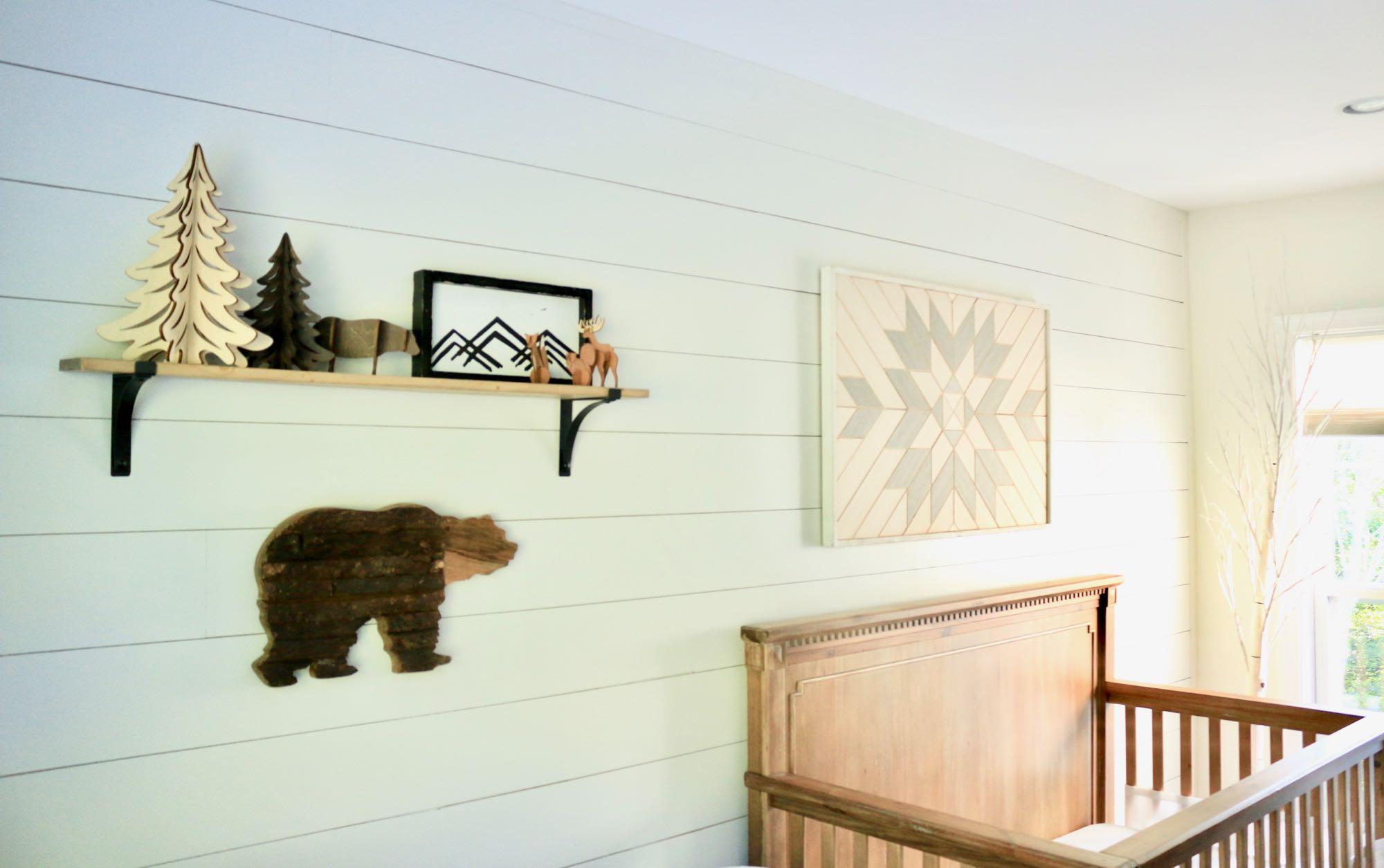 Adventure Nursery Woodwork & Forest