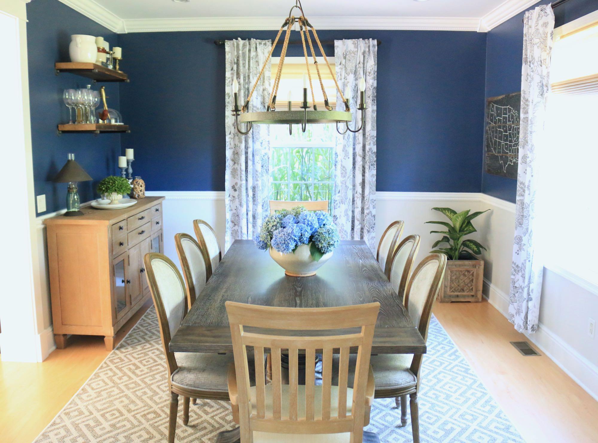 Transitional Farmhouse Dining Room