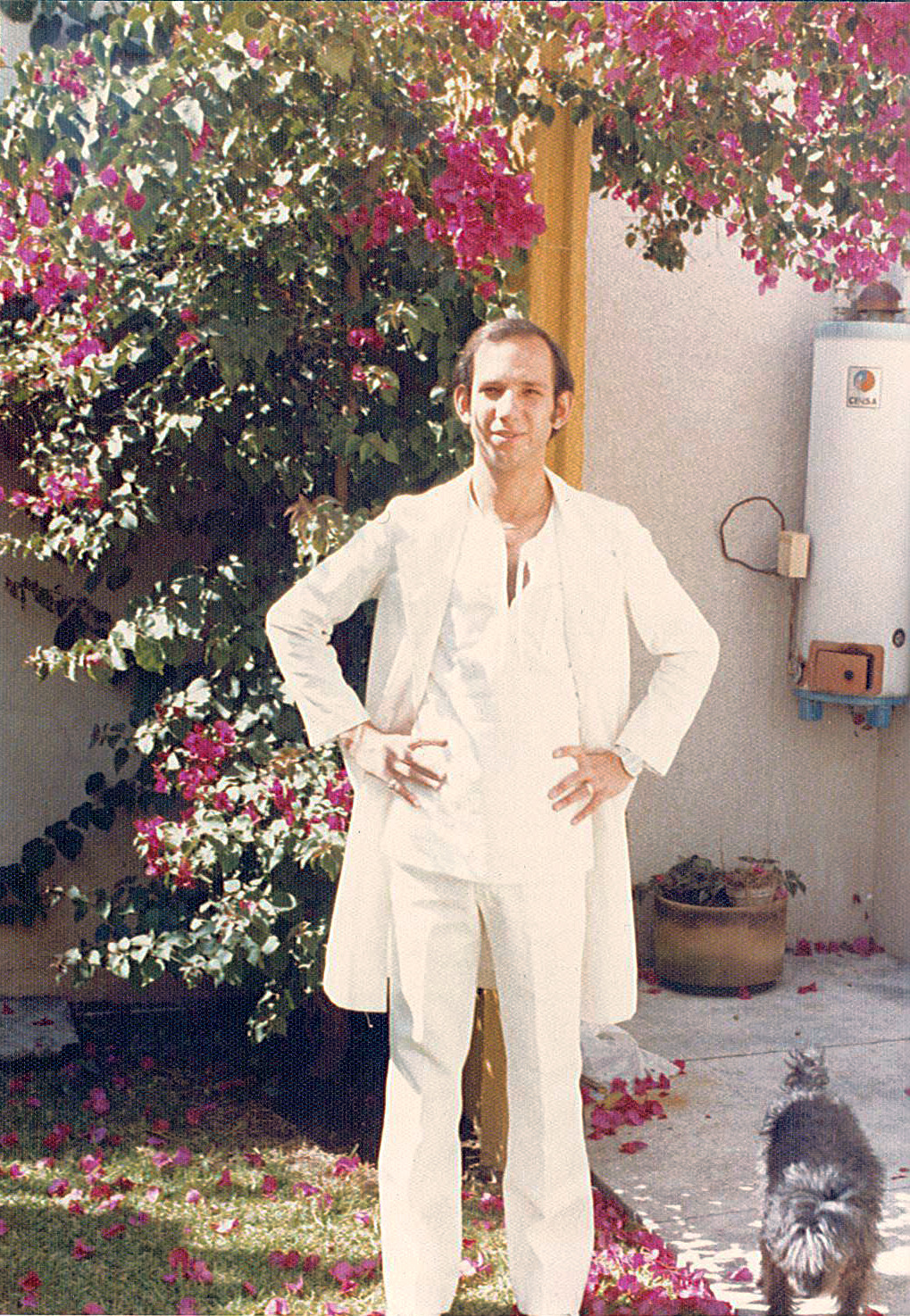 Neil during his studies in Guadalajara, Mexico.