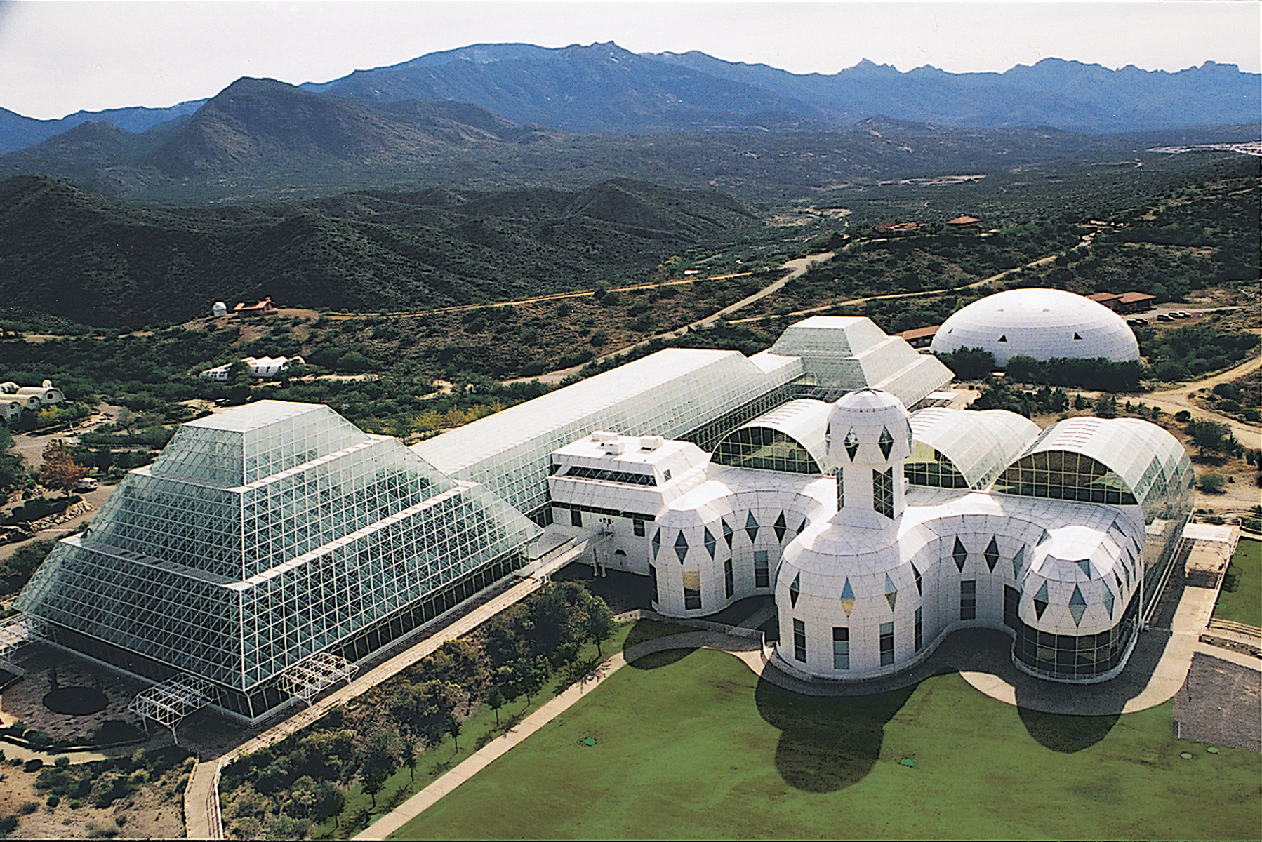 Biosphere 2, Arizona.
