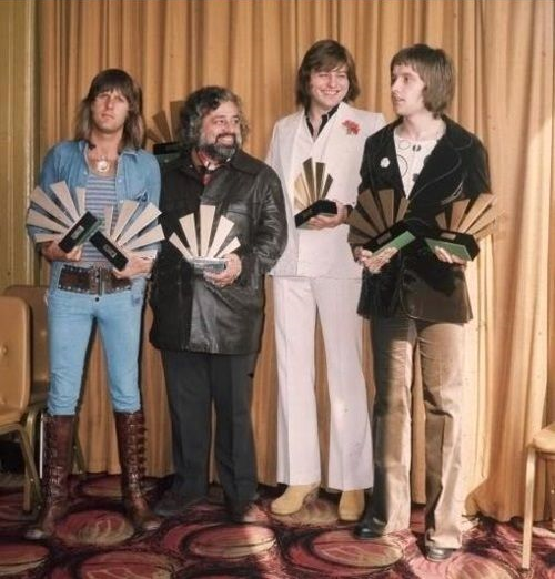 Dee Anthony with ELP