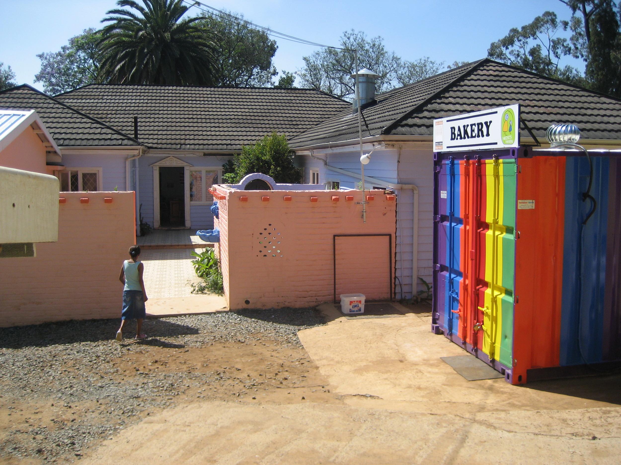 Entrance to Nkosi's
