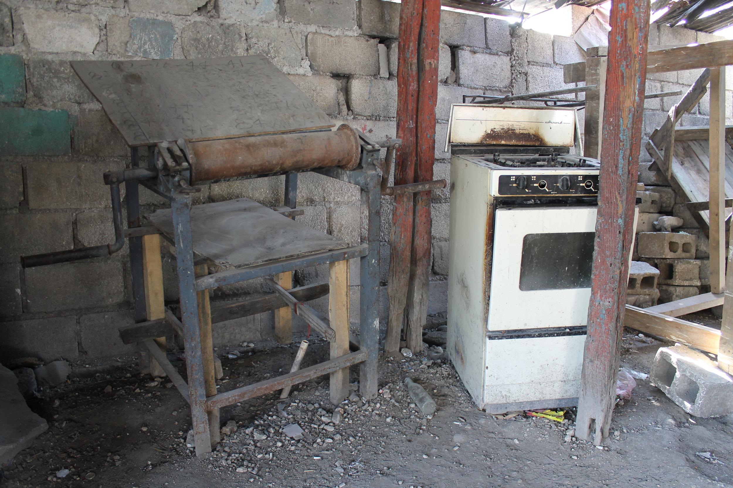 Granoit bakery before ICB