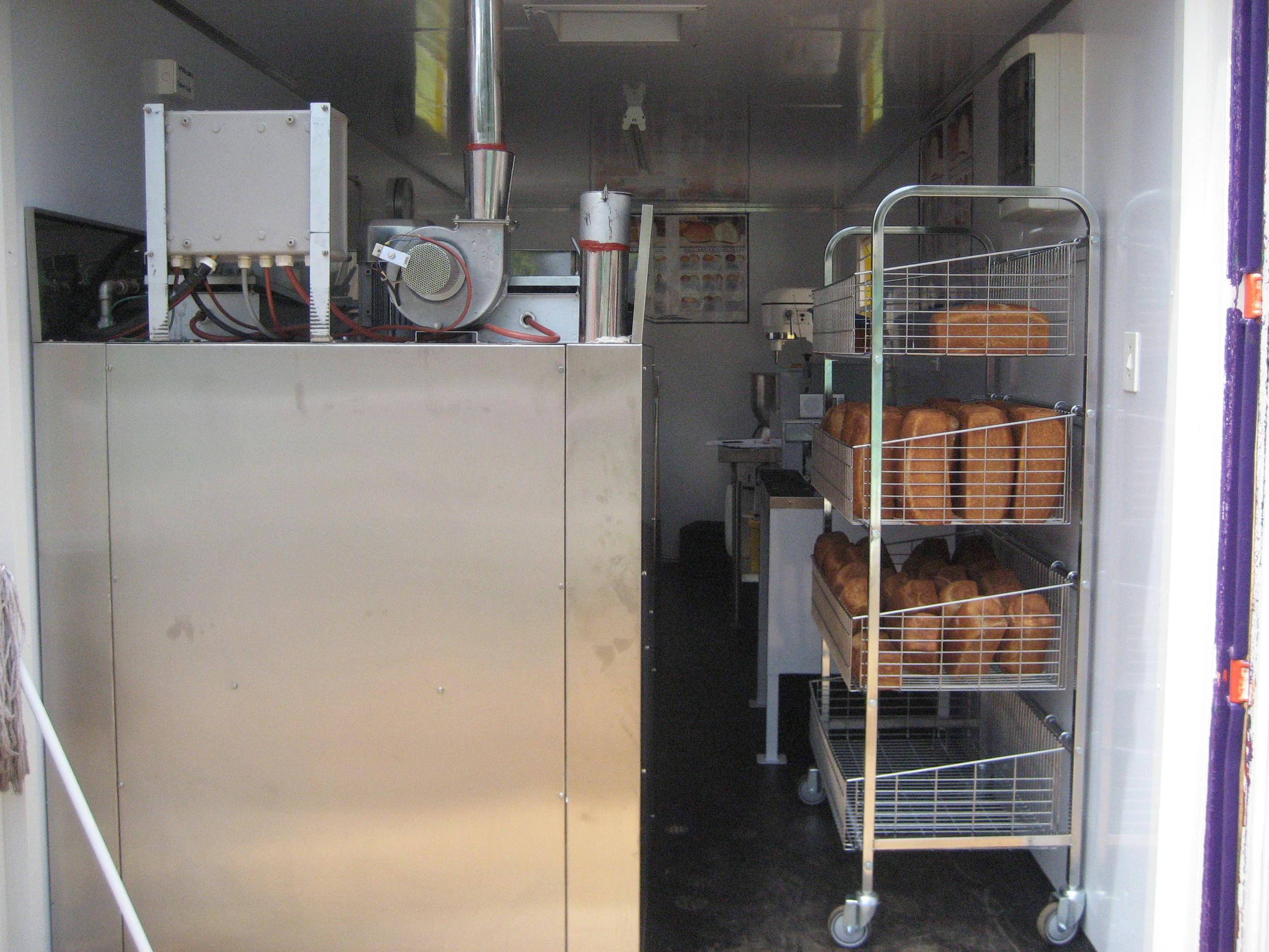 Inside of Nkosi's Bakery