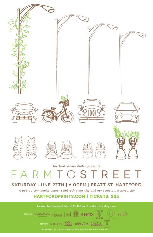 Farm To Street: An Outdoor Pop-Up Community Dinner