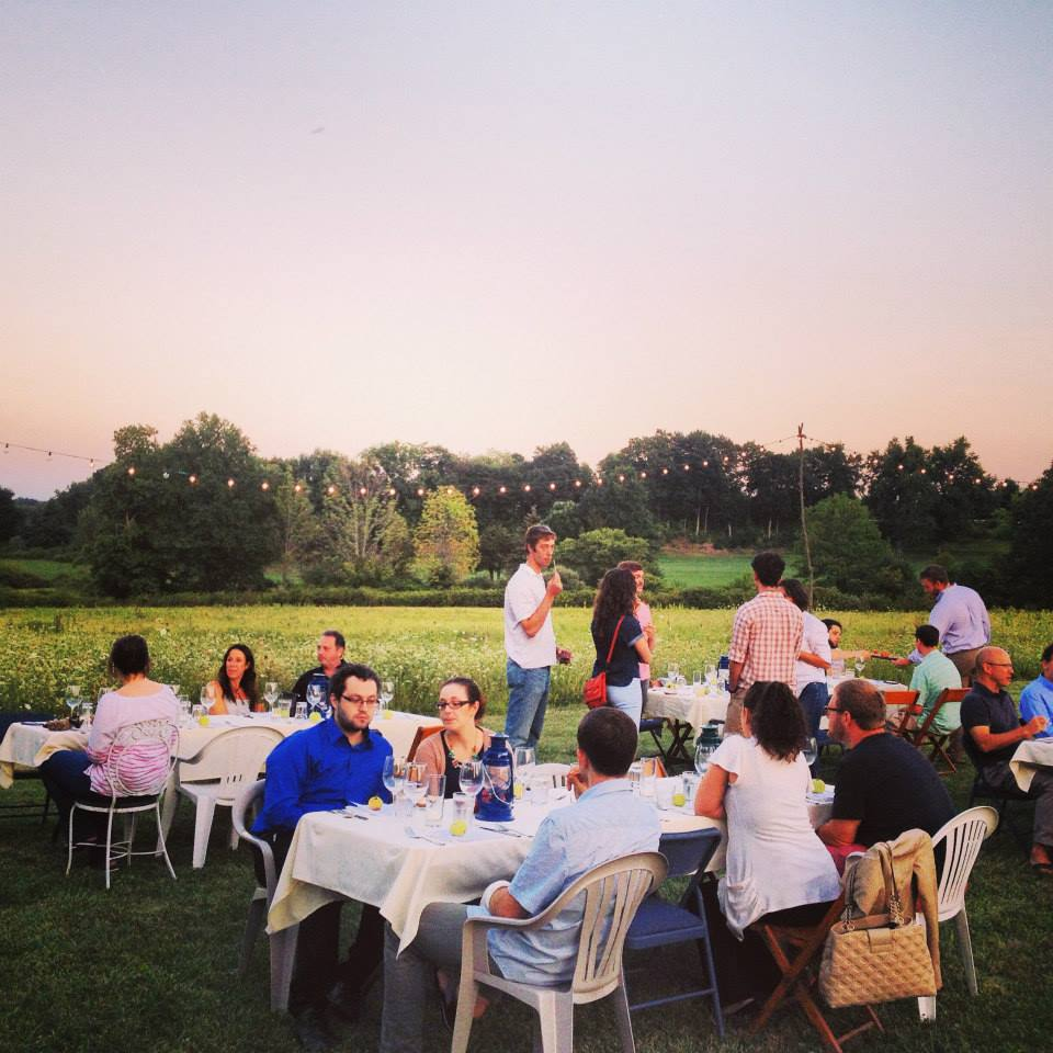 Eddy Farm Dinner with Chef Eric of Barcelona