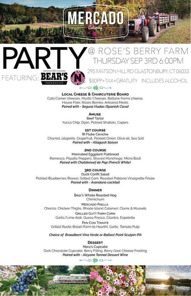 End of Summer Party Menu