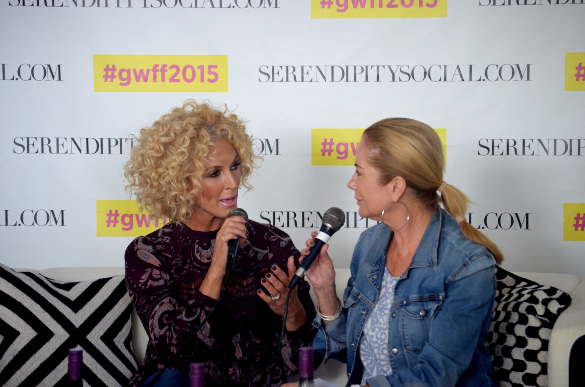 Kathie Lee Gifford interviewing Kimberly Schlapman of Little Big Town about her new cookbook  Oh Gussie!