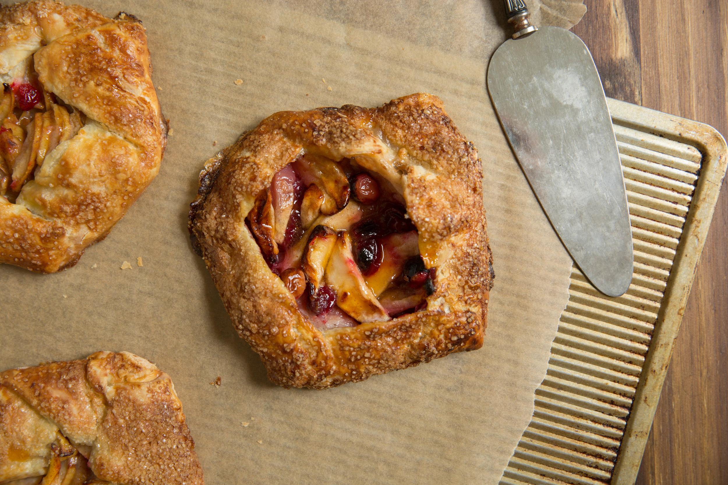 Apple and Cranberry Crostata Recipe