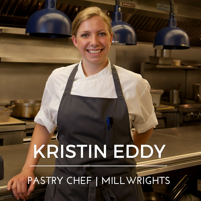 Kristin Eddy, Pastry Chef at Millwrights
