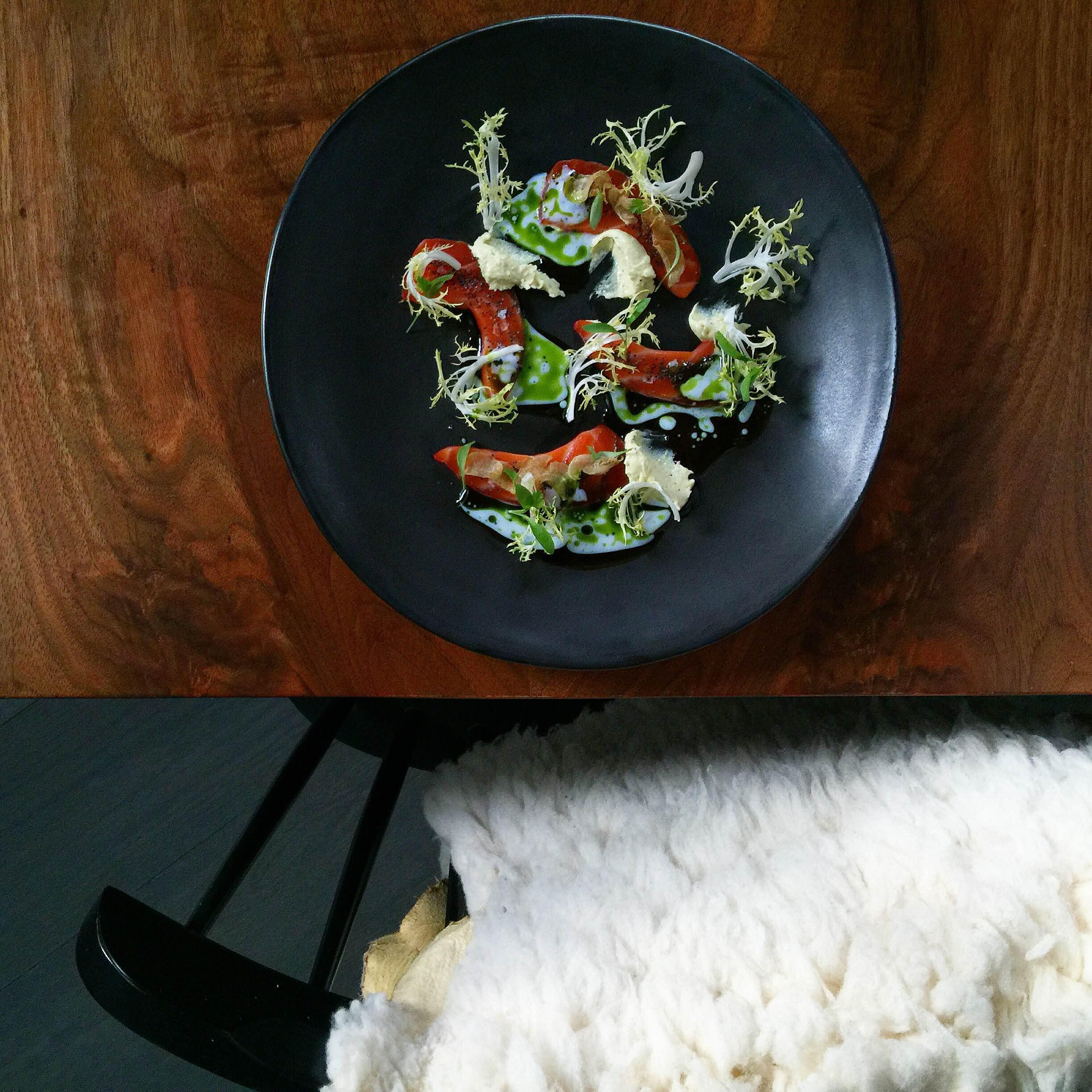 "Cured Salmon ""Everything Bagel"" via  @mattneele"