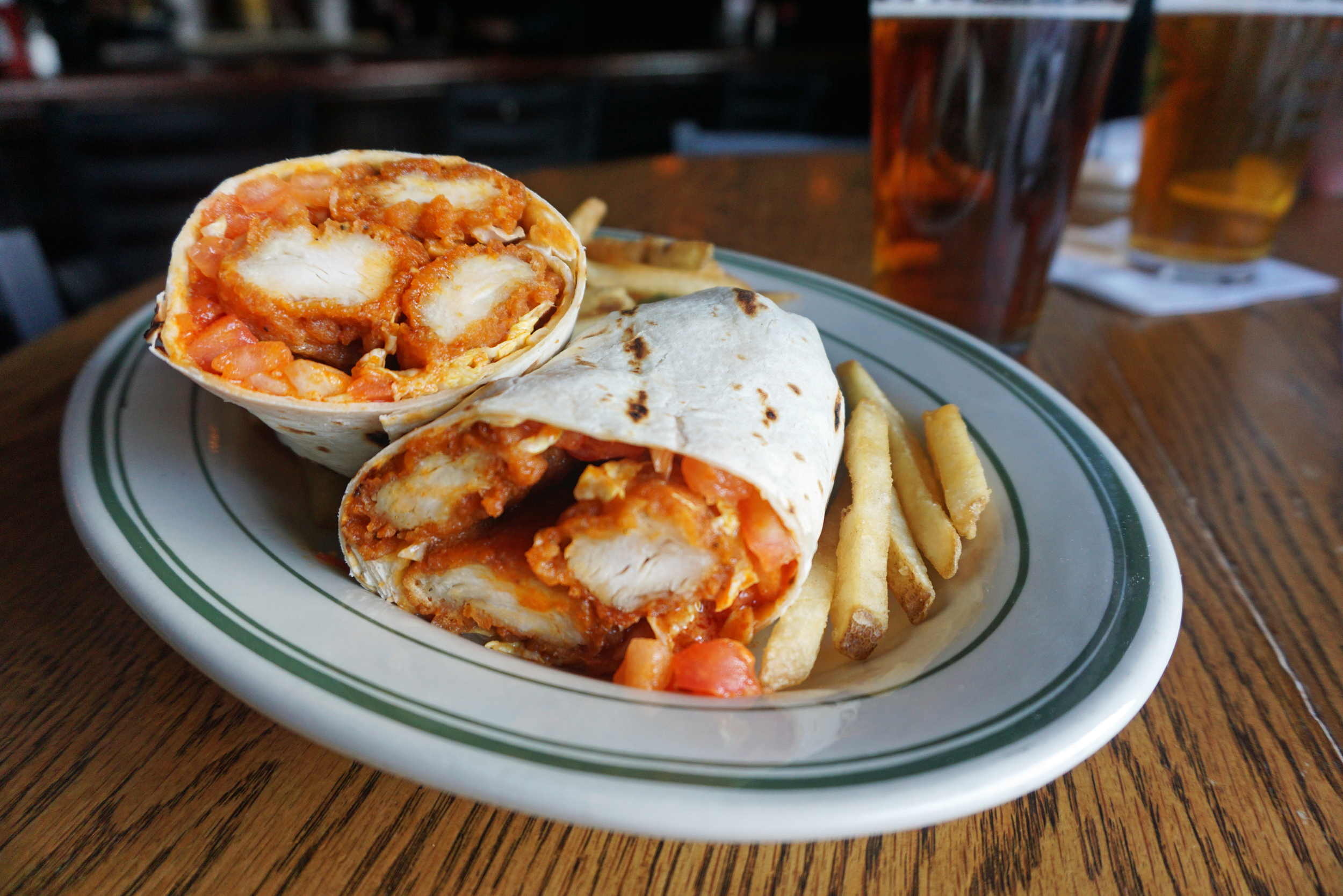 Archie Moore's Buffalo Chicken Wrap | 10 Things You Should Be Eating During The Super Bowl | CTEatsOut.com