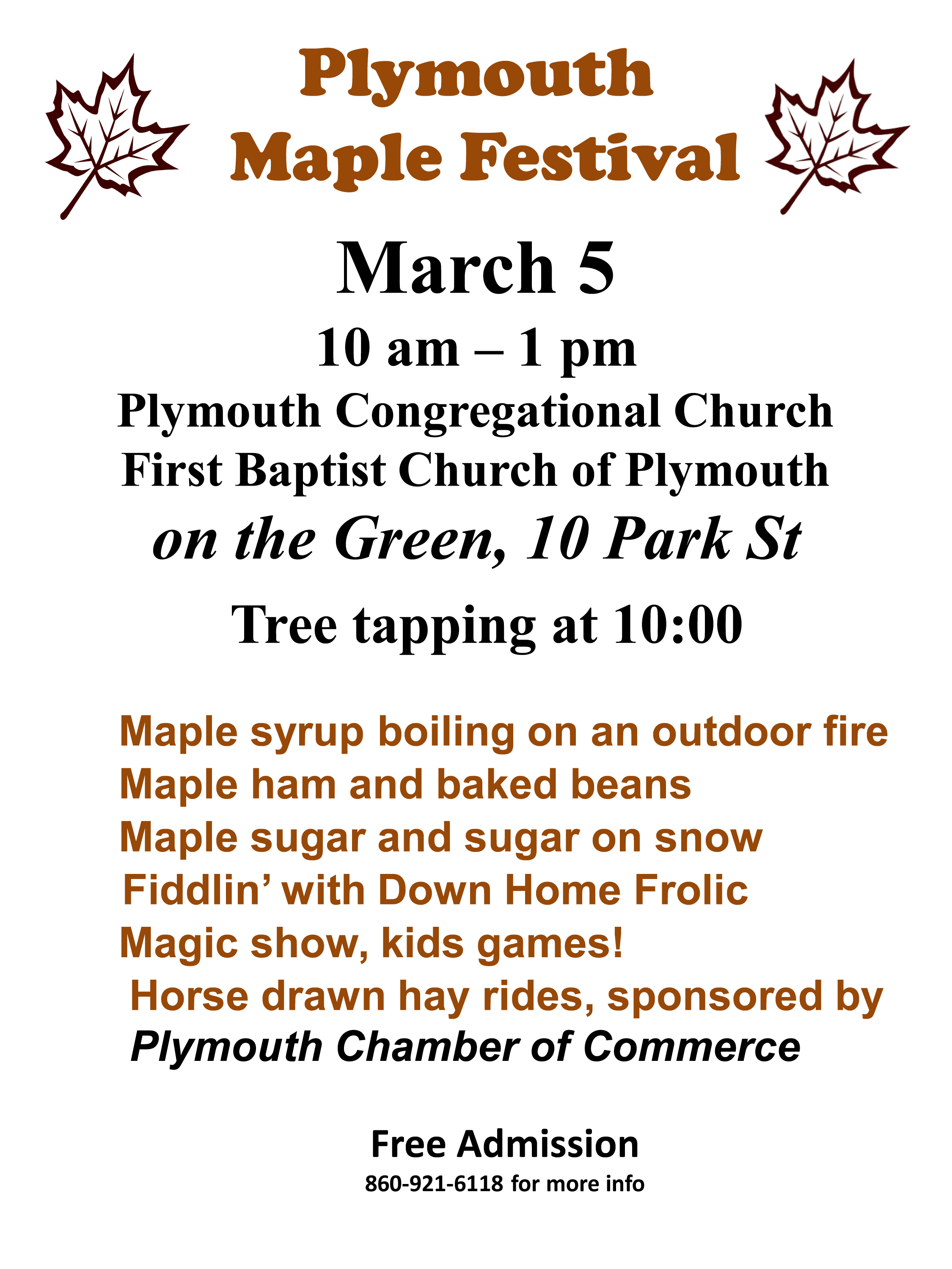 Plymouth Maple Festival