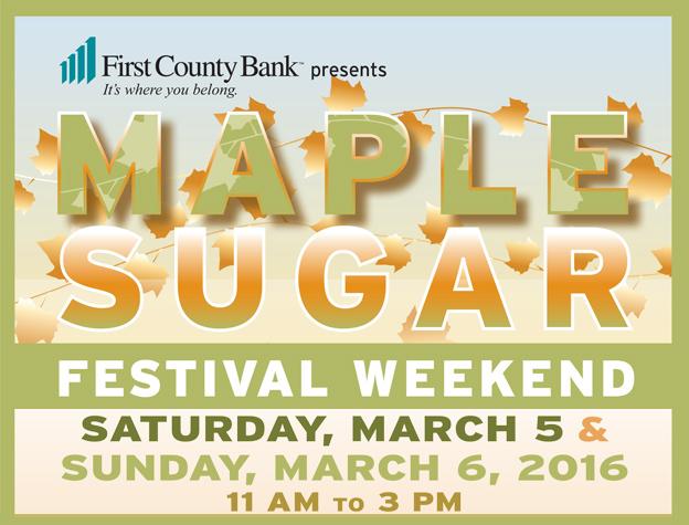 Maple Sugar Festival Weekend