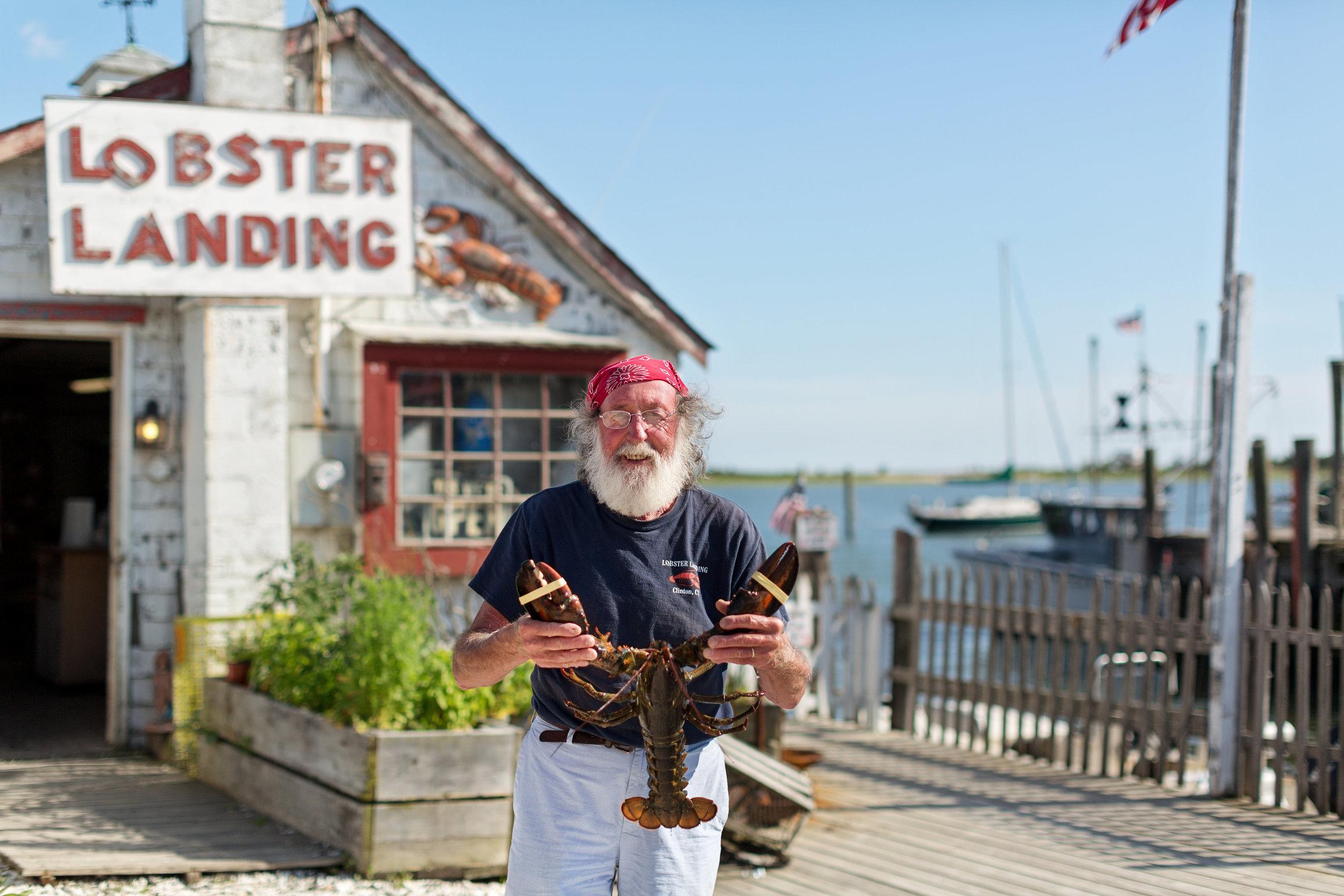 Enea Bacci, owner of Lobster Landing in Clinton, CT   CTEatsOut.com