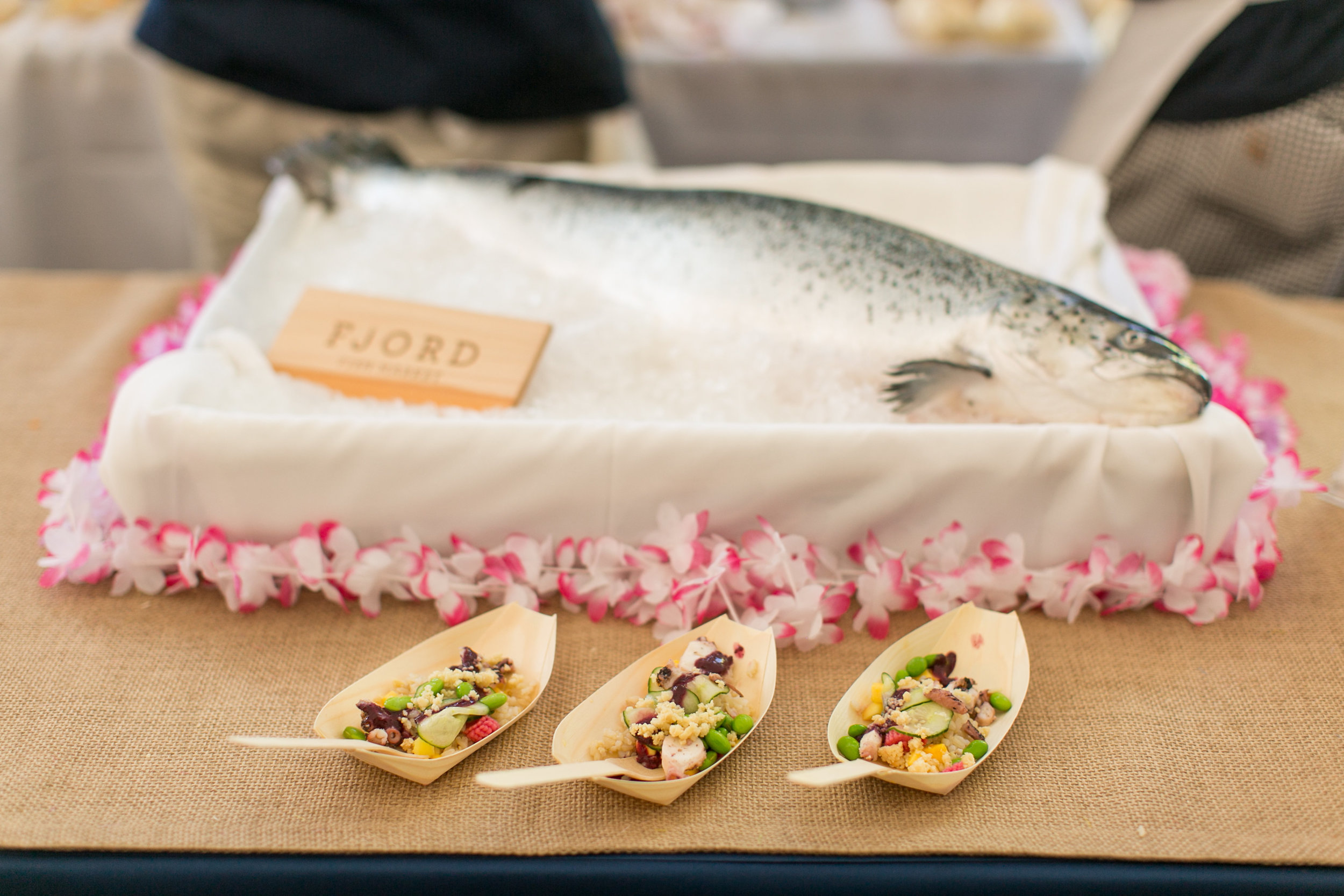 Fjord Fish Market at the Greenwich Wine and Food Festival | CTEatsOut.com