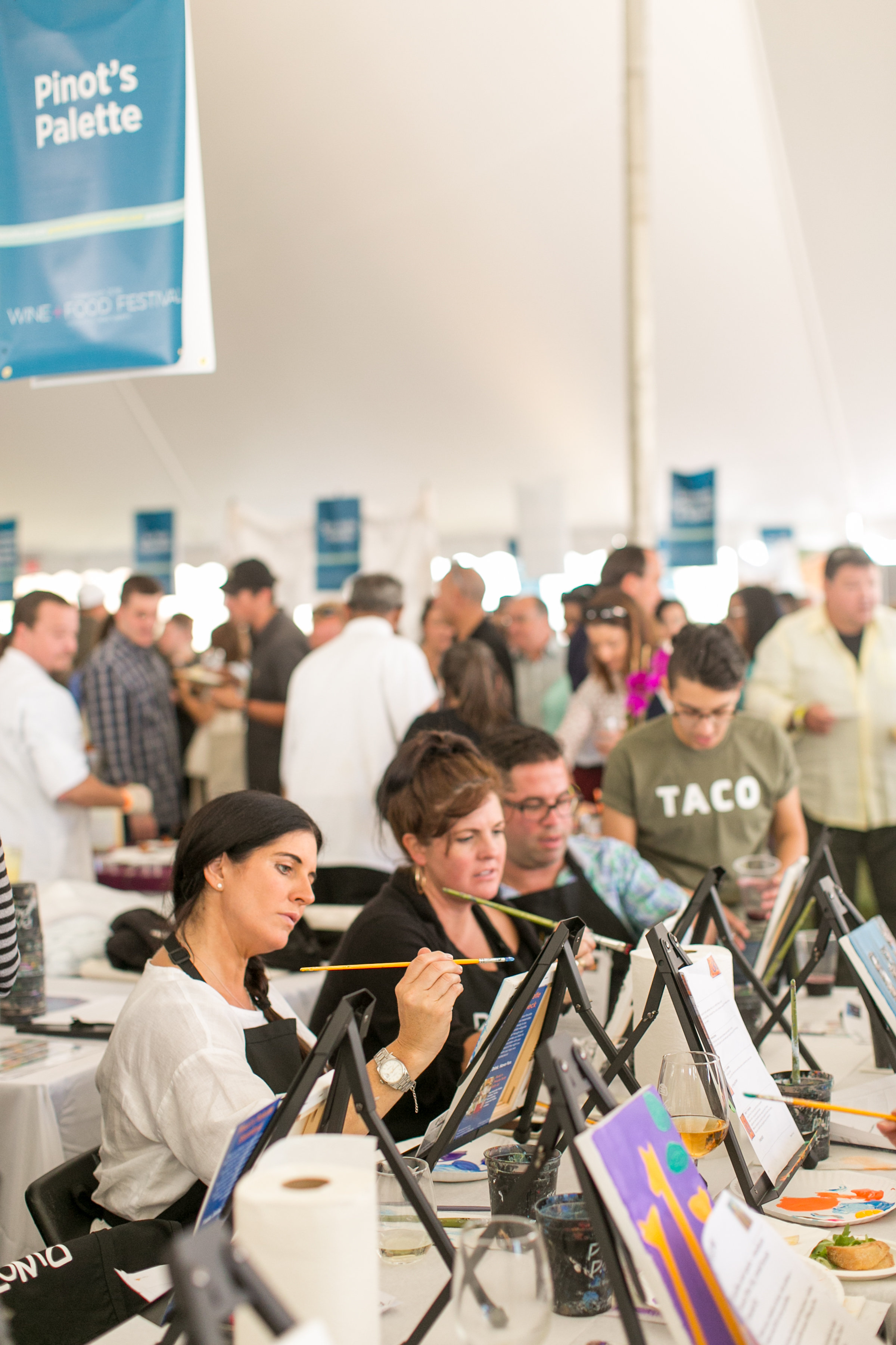 Pinot's Palette at the Greenwich Wine and Food Festival 2016 | CTEatsOut.com