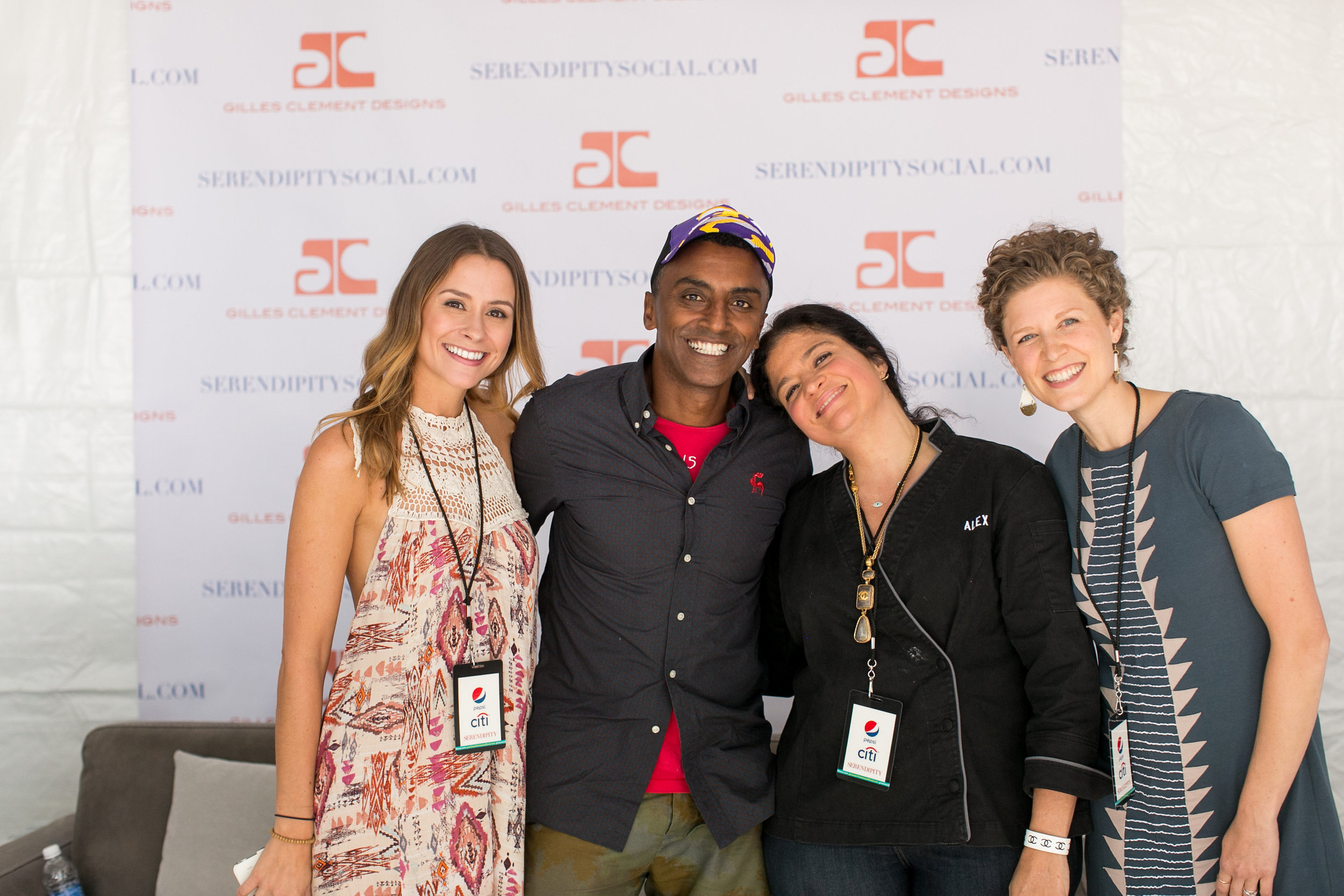 Marcus Samuelsson and Alex Guarnaschelli at the Greenwich Wine and Food Festival 2016 | CTEatsOut.com
