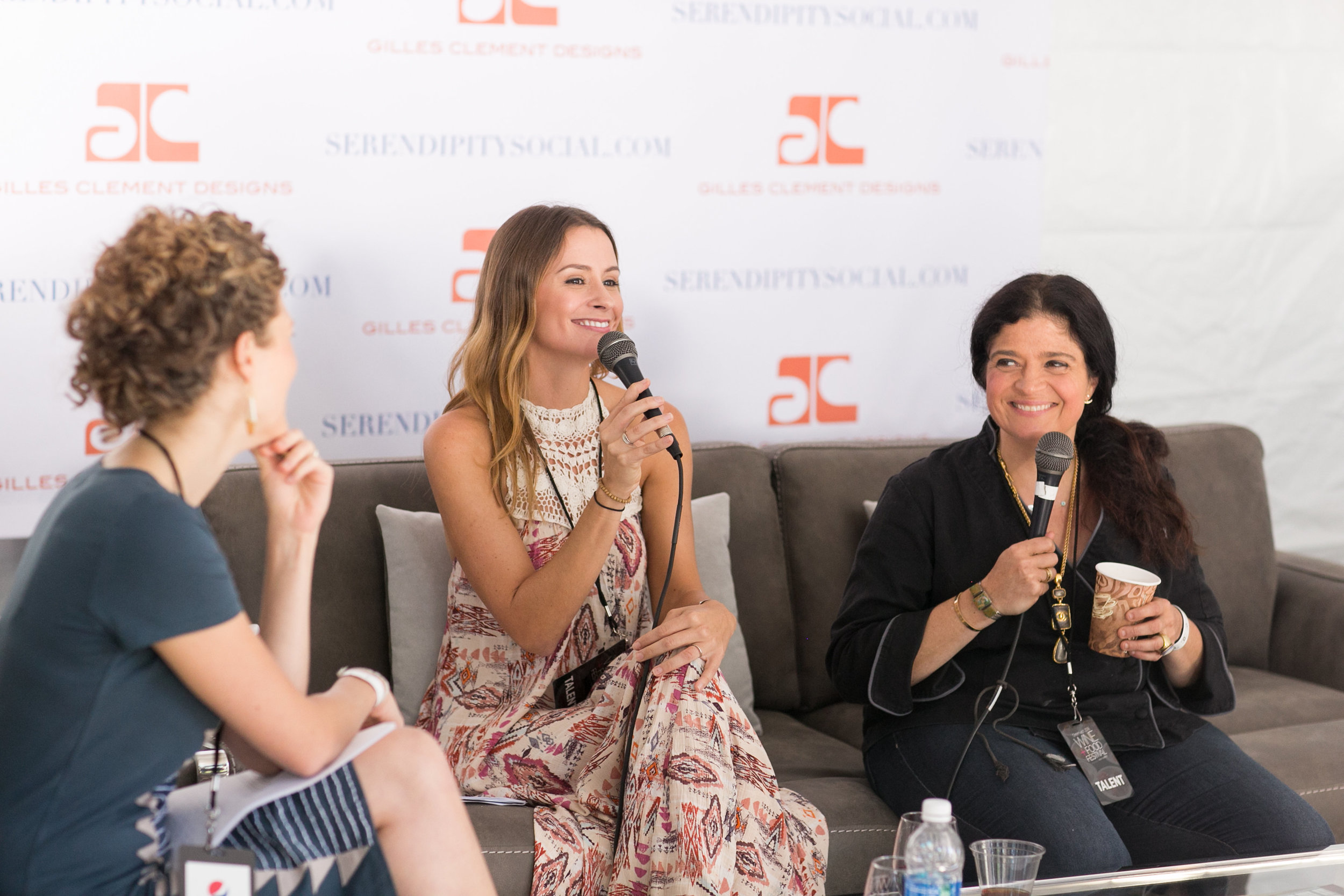Alex Guarnaschelli at the Greenwich Wine and Food Festival 2016 | CTEatsOut.com