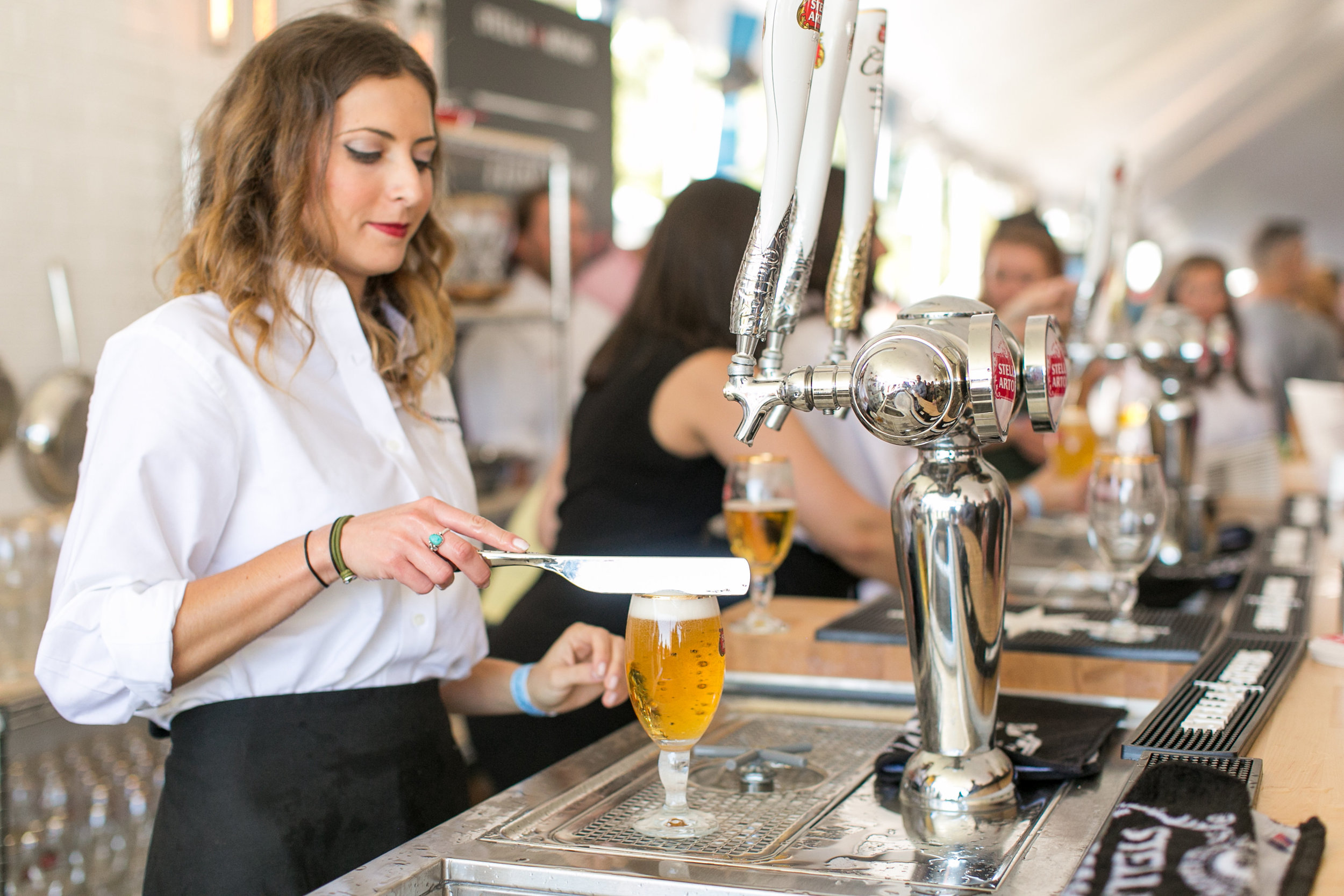 Stella Artois at the Greenwich Wine and Food Festival 2016 | CTEatsOut.com