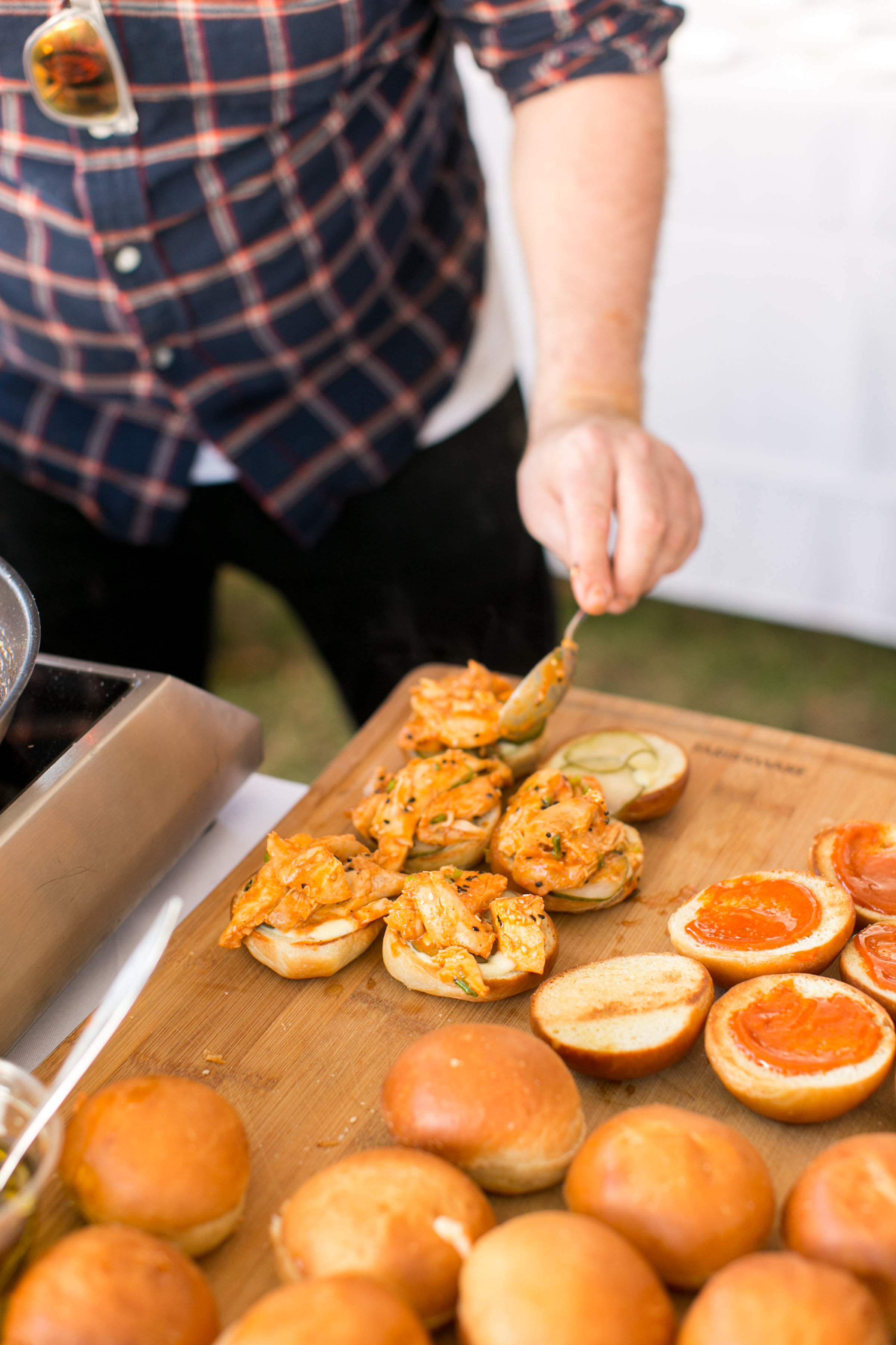 Chef Joel Viehland from The Pine Leaf at the Greenwich Wine and Food Festival 2016 | CTEatsOut.com