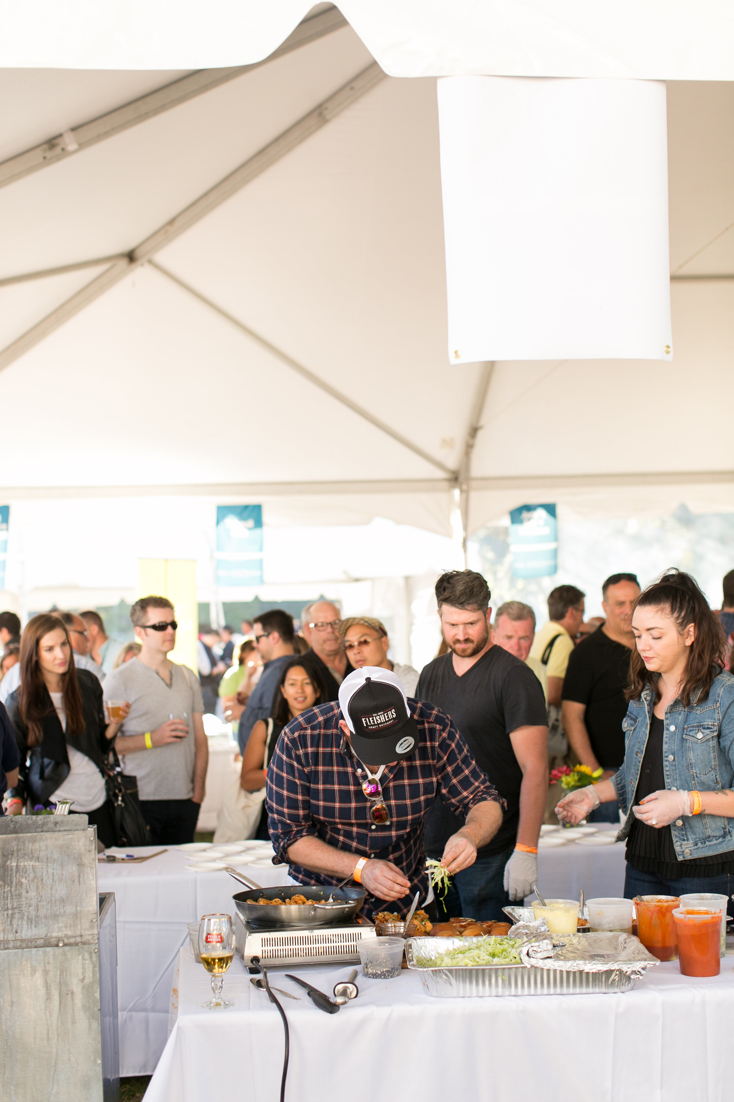 Chef Joel Viehland at the Greenwich Wine and Food Festival 2016 | CTEatsOut.com