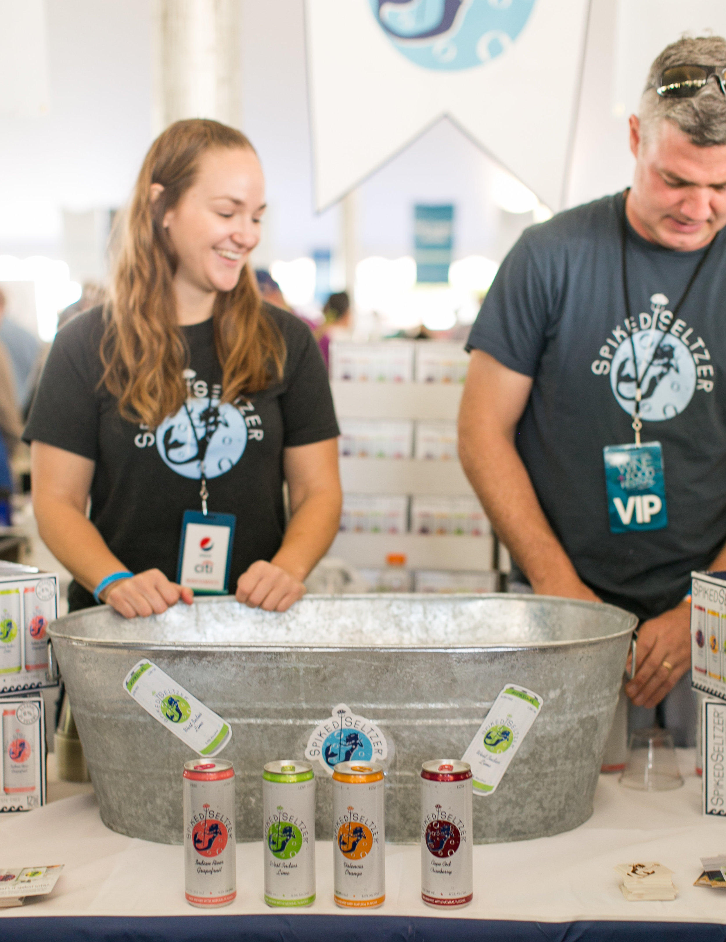 Spiked Seltzer at the Greenwich Wine and Food Festival | CTEatsOut.com