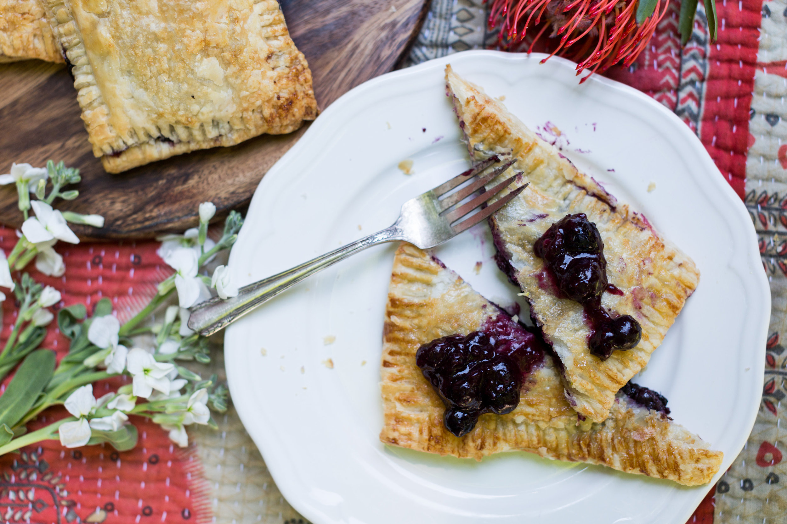 Blueberry Hand Pie Recipe from CT Eats Out