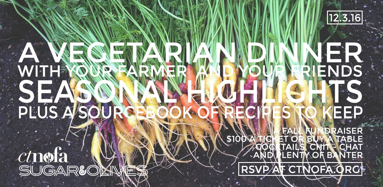 Vegetarian Fall Harvest Dinner Benefiting CT NOFA