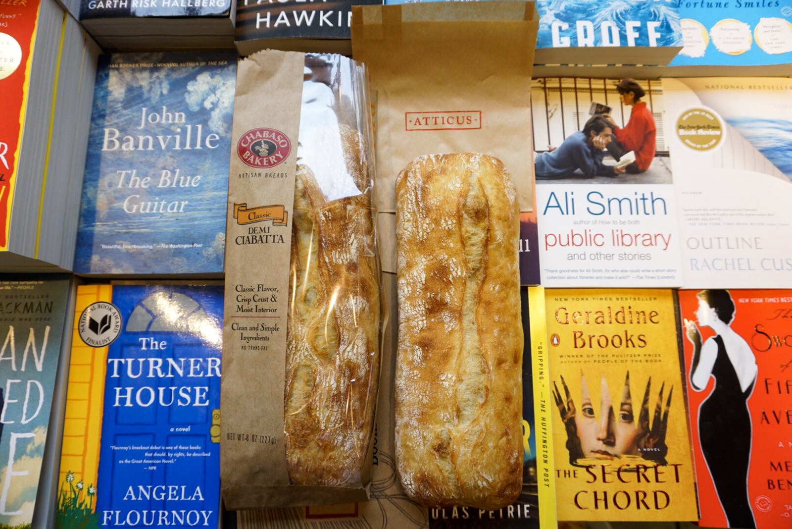Free Bread on Election Day at Atticus Cafe