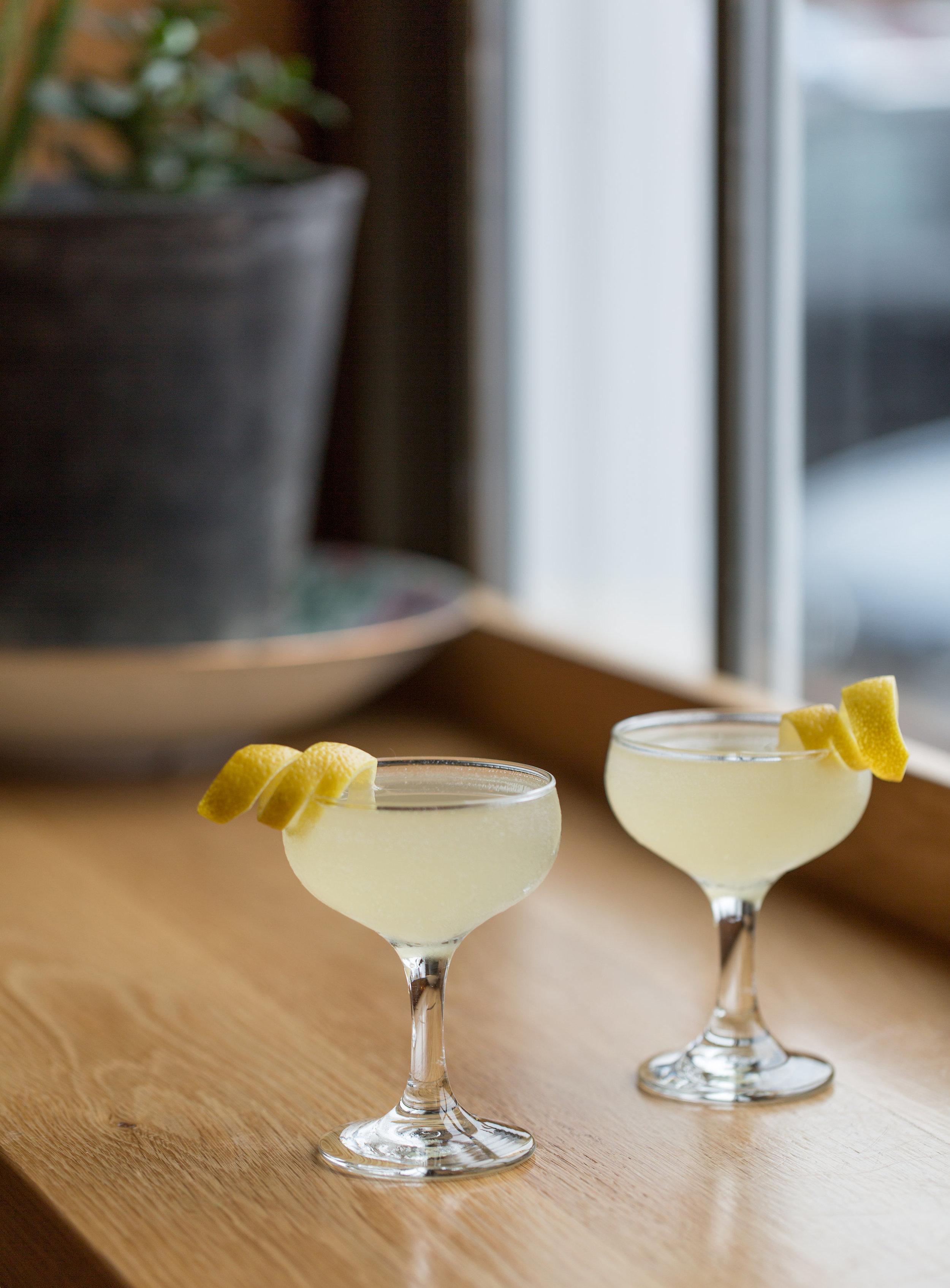 The Tokyo 75 Cocktail at Kawa Ni in Westport