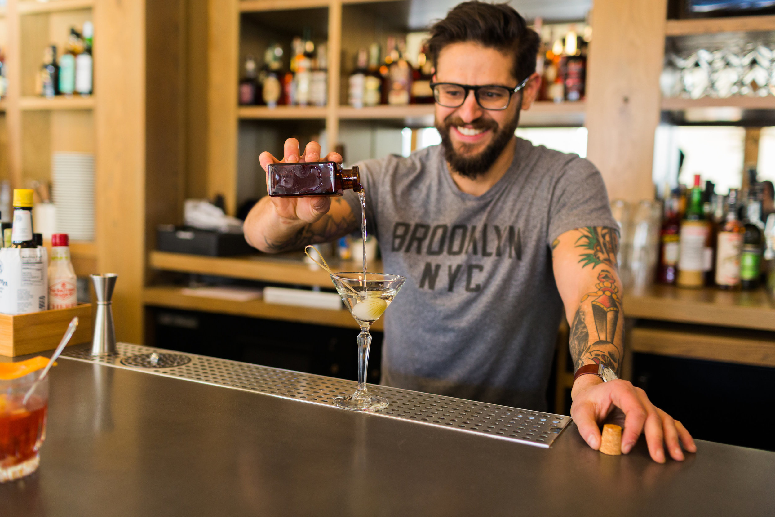 Jesup Hall Bar Manager Craig Ventrice